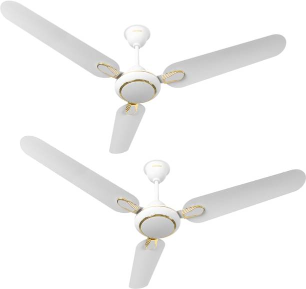 LUMINOUS Dhoom Pack of 2 1200 mm 3 Blade Ceiling Fan