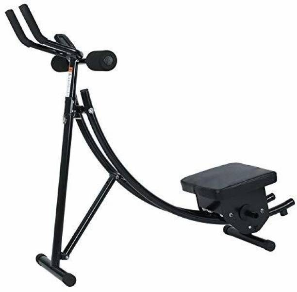 IRIS Fitness Ab Vertical Core Toner Ab Trainer Workout Machine Abdominal Fitness Bench