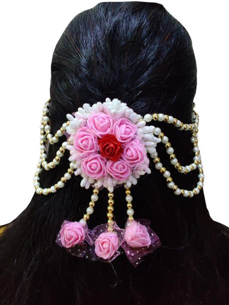 A2 Fashion Designer Flower Hair Accessories For Women And Girls Bun