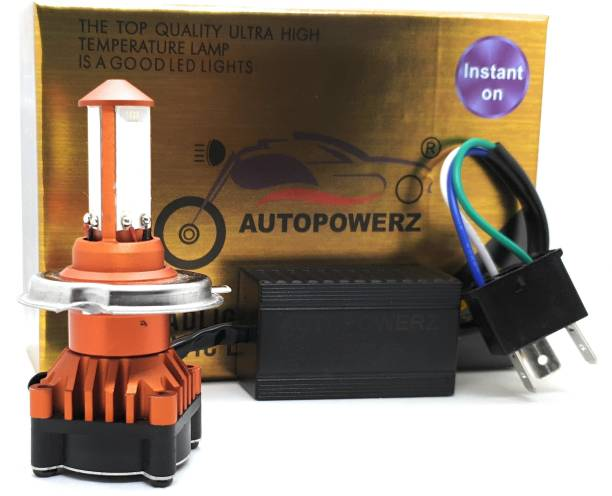 AutoPowerz LED Headlight For Universal For Bike, Universal For Car Universal For Bike, Universal For Car