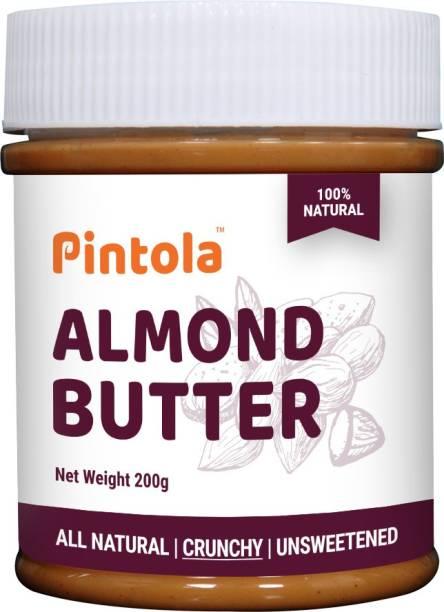 Pintola All Natural Almond Butter (Crunchy) 200 g