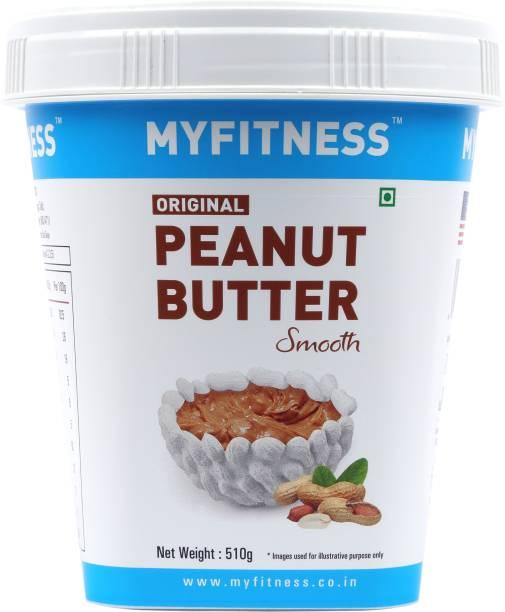 MYFITNESS Smooth Peanut Butter 510 g
