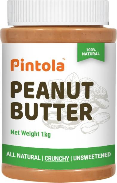 Pintola All Natural Peanut Butter (Crunchy) 1 kg