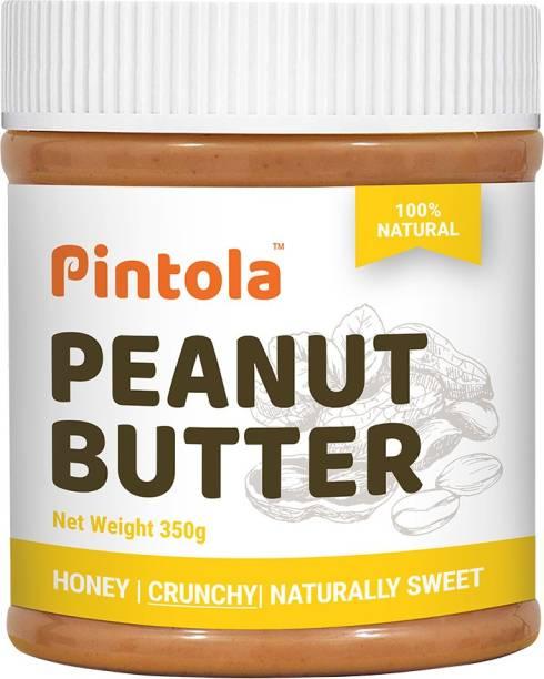 Pintola All Natural Honey Peanut Butter(Crunchy) 350 g