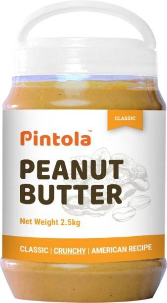 Pintola Classic Peanut Butter--(Crunchy) 2.5 kg
