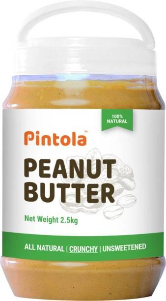 Pintola All Natural Export Peanut's Butter (Crunchy) 2.5 kg