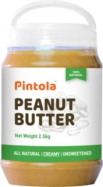 Pintola All Natural Peanut Butter (Creamy) 2.5 kg