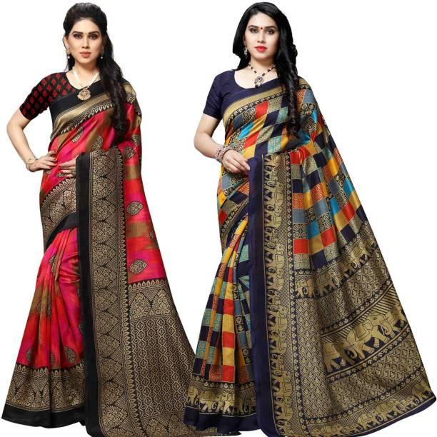 Anand Woven Bhagalpuri Silk Blend Saree