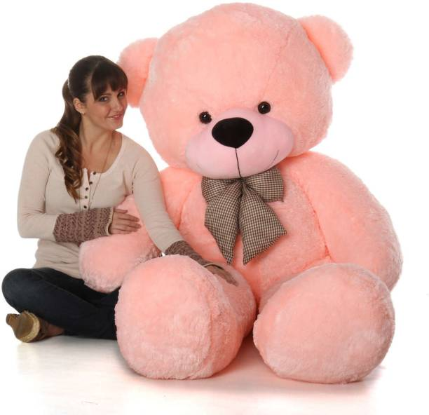 Mrbear 3 feet teddy bear pink colour - 90.01 cm (Pink)  - 90.01 cm