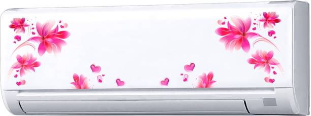 Decopix AC Sticker Fridge Sticker Wall Sticker Split Ac Stickers Air Conditioner Sticker - Standard Size (Fit for All Models / Sizes / Brands) (Vinyl, Multicolor)- DP6001
