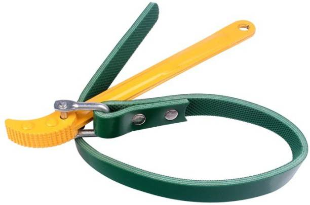 PagKis Belt Strap Type Auto Car Oil Filter Wrench Spanner Tool Belt Strap Type Auto Car Oil Filter Wrench Spanner Tool 9 Inches Handle, Belt: 20 Inches / 50 CM Single Sided Pipe Wrench