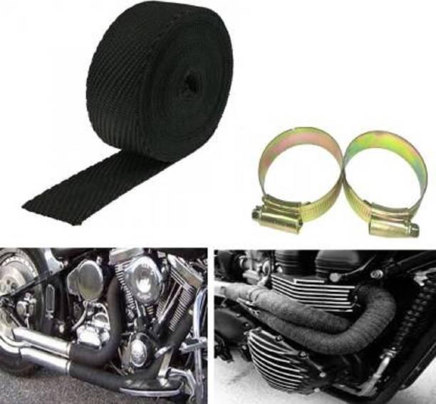 Riya Touch Glamr all bike Silencer Wrap for heat protection-S24 Bike Exhaust Heat Shield