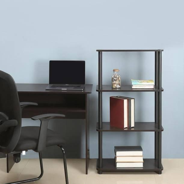 @Home by nilkamal Fitz Engineered Wood Open Book Shelf