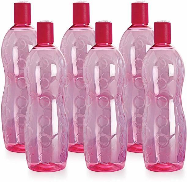 cello water bottle (Pack of 6) 1000 ml Bottle