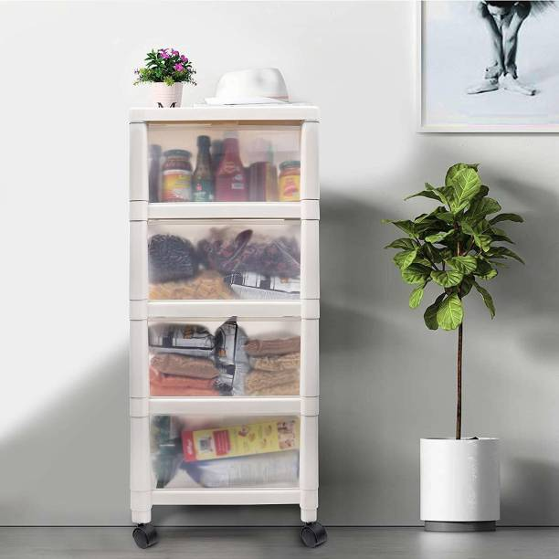 Kurtzy Plastic Free Standing Cabinet