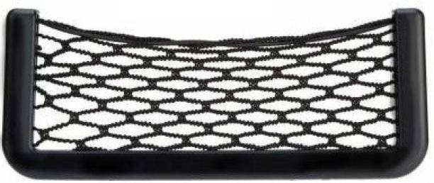 Mankrit Universal Car Storage Net [8.5×20cm], Side Back Net Bag Holder Pocket Organiser Car Single Pocket