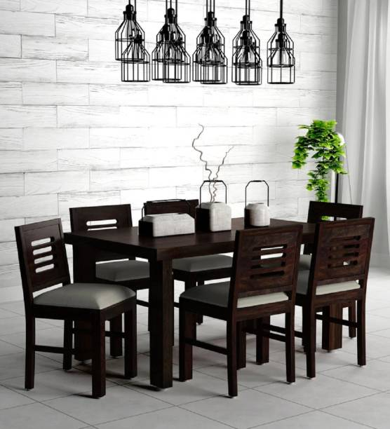 Kendalwood Furniture Solid Wood 6 Seater Dining Set