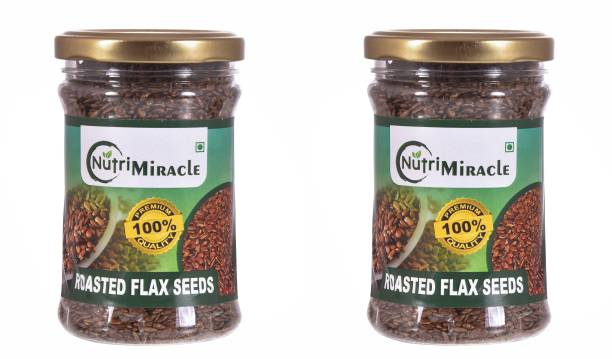 NUTRI MIRACLE nutri miracle roasted flax seed combo pack