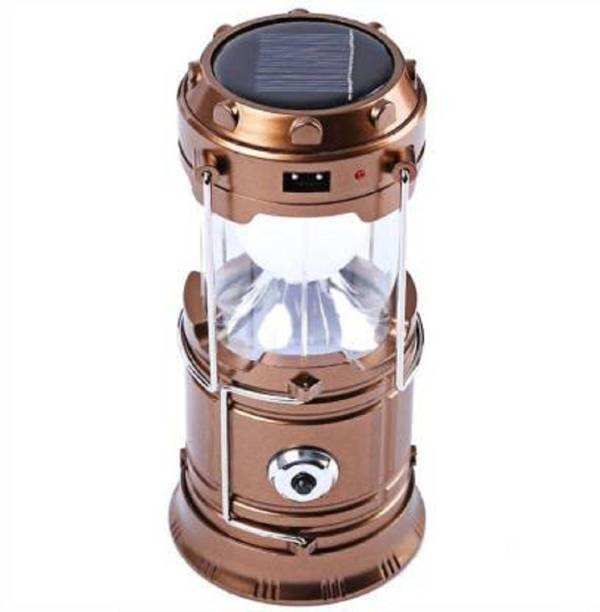 Ketsaal Large area of solar panel and large capacity, long lifespan of lithium battery., ideal for home lighting, outdoor camping, garden, lawn, landscaped areas, park, pathways and driveways., Powered for 6 pcs LED for about 6 hours after fully charged Lantern Emergency Light