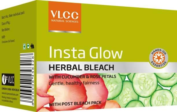 VLCC Insta Glow Herbal Bleach(27gm) Pack of 6
