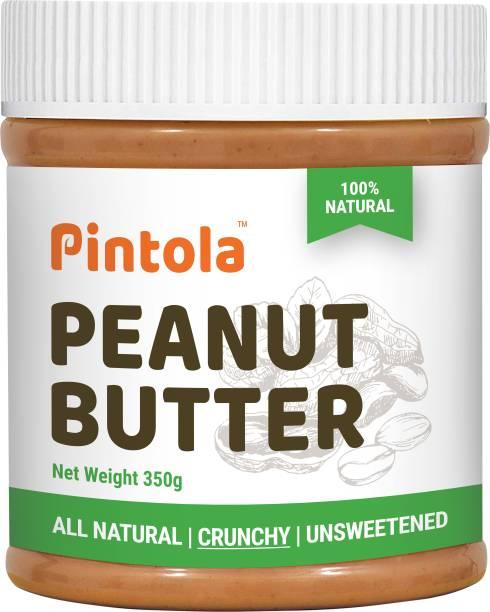 Pintola All Natural Peanut Butter (Crunchy) 350 g