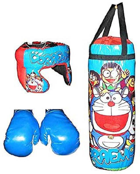 Kmc kidoz Kids Boxing kit (Punching Bag, Gloves and Headgear) 3 to 10 Years Boxing Kit