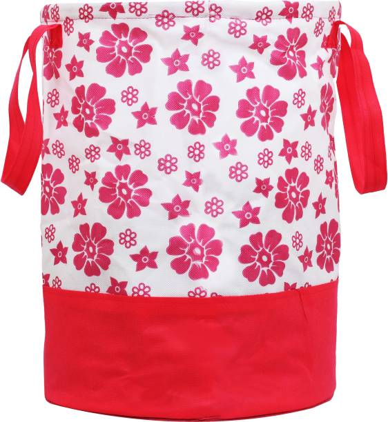 KUBER INDUSTRIES 45 L Pink Laundry Bag