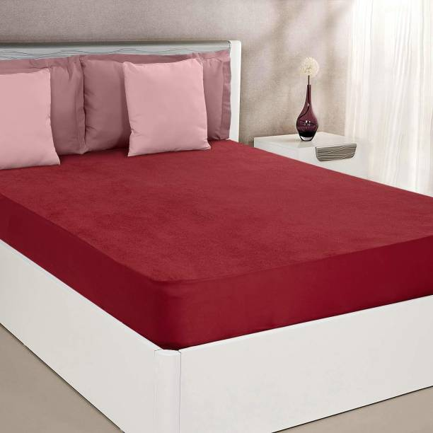 Relaxfeel Fitted Double Size Waterproof Mattress Cover