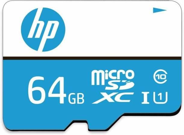 HP 64GB 64 GB MicroSD Card Class 10 100 MB/s  Memory Card