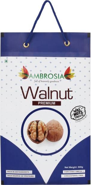 AMBROSIA Premium Walnut Inshell 500g - Chile Origin Walnuts