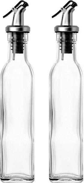 crom Bizarre Oil Bottle - Olive Oil & Vinegar Bottle - Set of 2-500 ml 500 ml Bottle