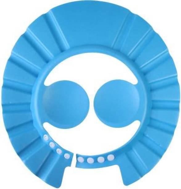 MOOZICO Safe Baby Shower Cap Kids Bath Visor Hat Adjustable Baby Shower Cap Protect Eyes Hair Wash Shield for Children.