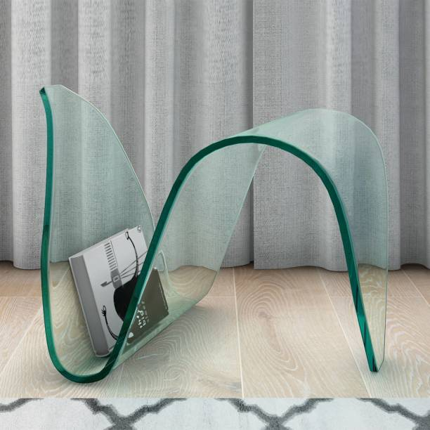 Durian Nico Clear Glass Side Table