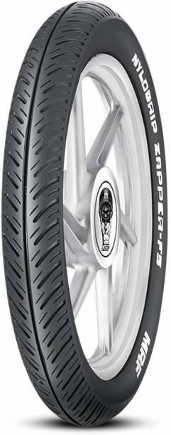 MRF Nylogrip Zapper-FS 2.75-18 42P Tube-Type Bike Front Tyre