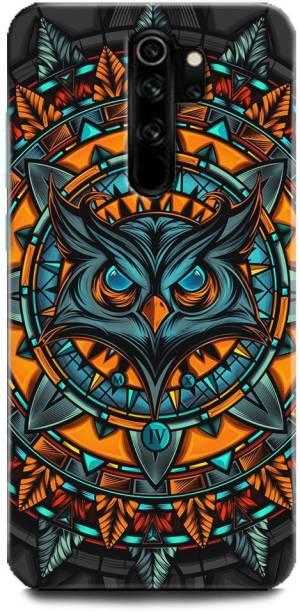 BARMANS Back Cover for Redmi Note 8Pro / owl, illuminati owl, cool, tranding, bird, fire, fantacy