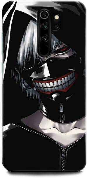 BARMANS Back Cover for Redmi Note 8Pro / Tokyo Ghoul, Keneki, Anime, Ghoul, Skull, Dark