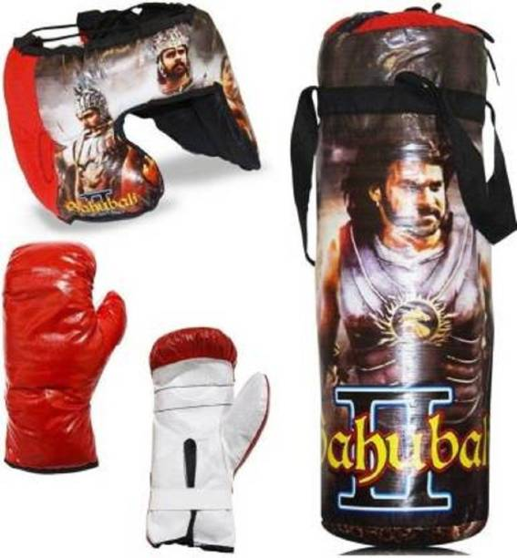Kmc kidoz Boxing Kit With 2 Gloves and 1 Head guard For Kids 4 To 10 Years Boxing Set Boxing Kit