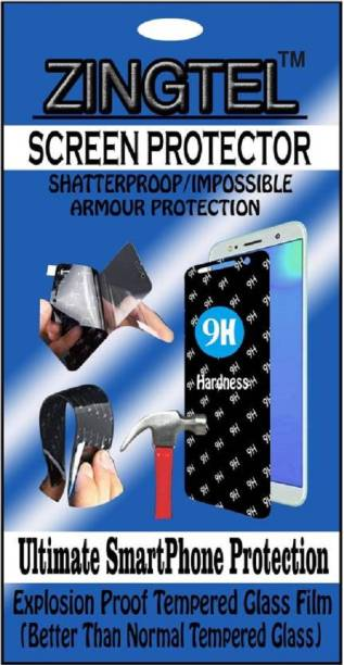 ZINGTEL Tempered Glass Guard for Celkon Millennia Q455l