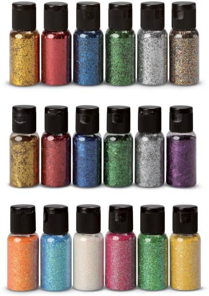 ShopCircuit Eye Shadow Glitter Powder Set