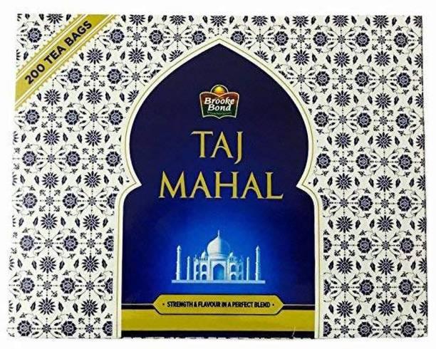 Taj Mahal Regular Unflavoured Tea Bags Box-200 Bags (Pack of 10) Tea Bags Box