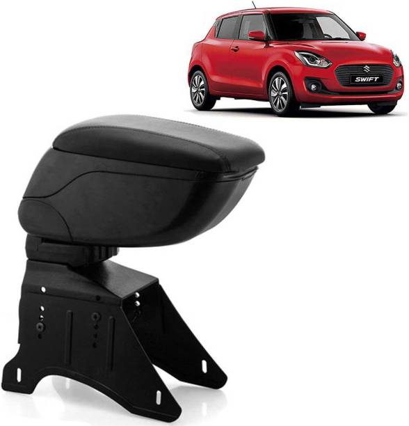 aksmit Arm Rest Console Black For Swift_SWIAR6650 Car Armrest