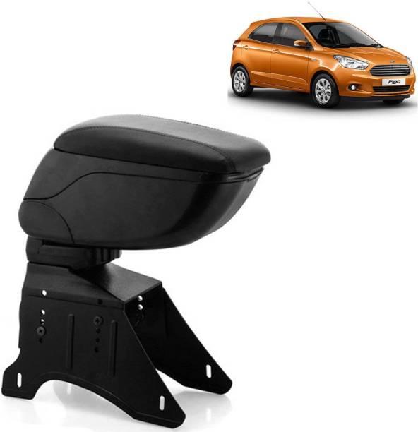 aksmit Arm Rest Console Black For Figo_FIGAR6482 Car Armrest