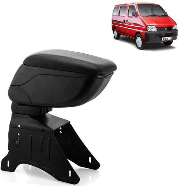 aksmit Arm Rest Console Black For Eeco_EECAR6550 Car Armrest