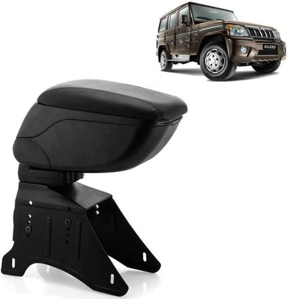 aksmit Arm Rest Console Black For Bolero_BOLAR6528 Car Armrest