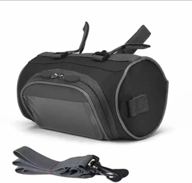 TUHI Cycle Front Storage And Mobile Holder Bag, Touchscreen Transparent bag Bicycle Phone Holder