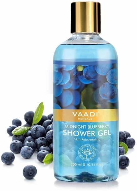 VAADI HERBALS MIDNIGHT BLUEBERRY SHOWER GEL (PACK 3)
