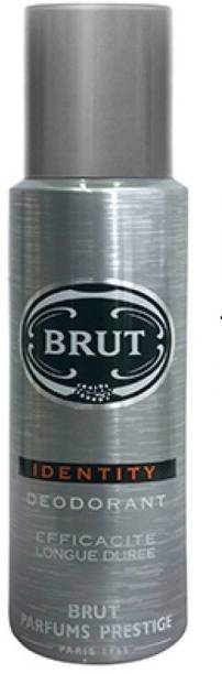 BRUT SILVER PACK OF 1 O90I Body Spray  -  For Men & Women