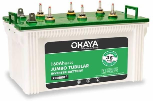 Okaya XL6600T Tubular Inverter Battery