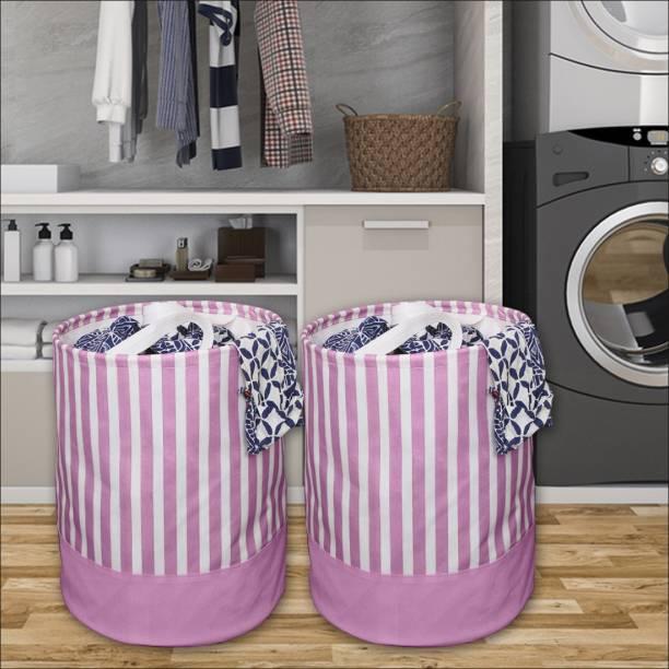 Flipkart SmartBuy 45 L Pink Laundry Basket