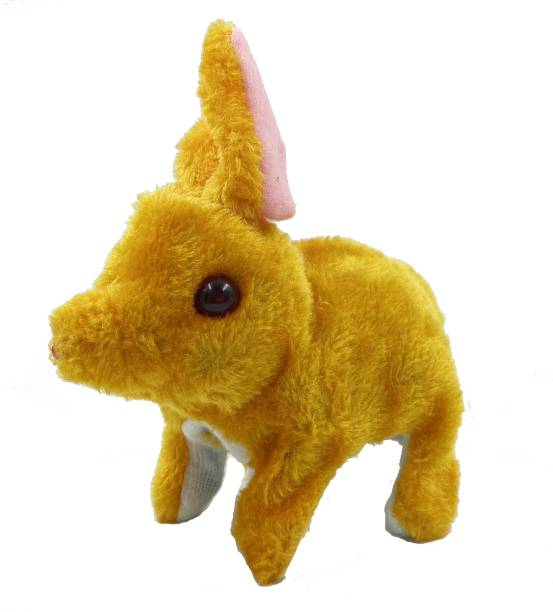 Jamboree Walking Barking Tail Wagging Moving Rabbit Kids Fun Toys